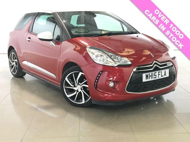 View our 2015 15 DS DS 3 1.6 BLUEHDI DSTYLE NAV S/S 3d 98 BHP