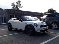 2013 MINI ROADSTER 1.6 COOPER S 2d 181 BHP £10490.00