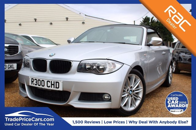 View our 2011 BMW 1 SERIES 2.0 118D M SPORT 2d 141 BHP