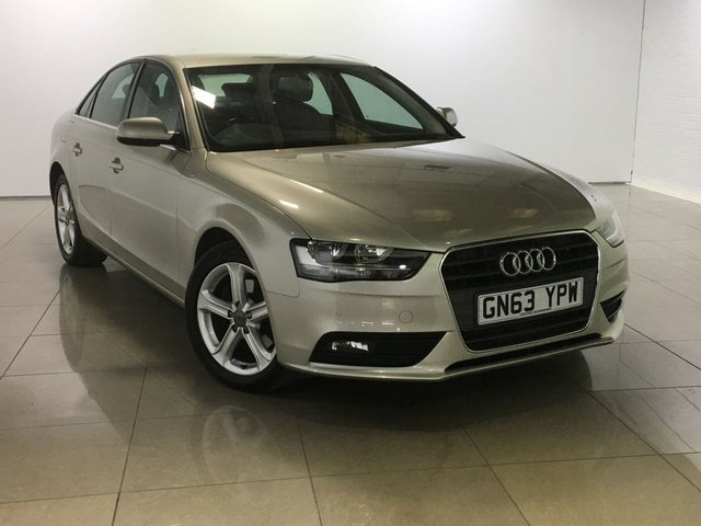 View our 2013 63 AUDI A4 2.0 TDI SE TECHNIK 4d AUTO 148 BHP