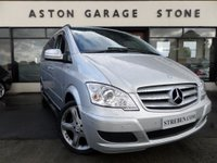 USED 2013 63 MERCEDES-BENZ VIANO 3.0 122 CDI BLUEEFFICENCY AMBIENTE EXTRA LONG AUTO 224 BHP ** ELECTRIC SLIDING DOORS * AIR CON * LEATHER * SAT NAV **