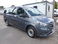 USED 2016 16 MERCEDES-BENZ VITO 114 BLUETEC TOURER PRO, 136 BHP [EURO 6], AIR CON, LOW MILES, 1 COMPANY ONWER
