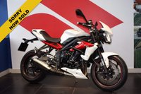 USED 2014 14 TRIUMPH STREET TRIPLE R ABS ABS MODEL***SOLD***