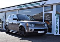 USED 2010 10 LAND ROVER RANGE ROVER SPORT 3.0 TDV6 HSE 5d AUTO 245 BHP FACTORY FITTED REAR DVD'S