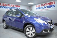 USED 2014 14 PEUGEOT 2008 1.4 HDI ACTIVE 5d 68 BHP Fantastic MPG , Cheap Road Tax , Cruise control