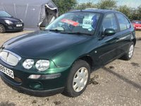 2001 ROVER 25 2.0 IL TD 5d 1 OWNER £999.00