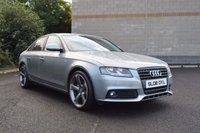 USED 2008 AUDI A4 2.143 CR TDI 143 BHP SE BLACK EDITION-FULL-BLACK LEATHER
