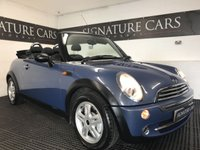 USED 2004 04 MINI CONVERTIBLE 1.6 ONE 2d 89 BHP