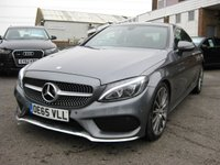 USED 2016 65 MERCEDES-BENZ C-CLASS 2.0 C 200 AMG LINE PREMIUM 2d AUTO 181 BHP C 200 AMG line Coupe Premium pack Leather 19'' AMG Alloy wheels One Owner