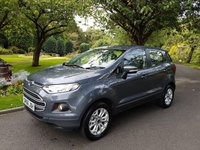 USED 2016 FORD ECOSPORT 1.5 ZETEC TDCI 5d 94 BHP £30 Road Tax for Life