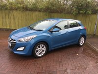 2012 HYUNDAI I30 1.6 STYLE NAV BLUE DRIVE CRDI 5d 126 BHP £7690.00
