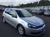 USED 2011 61 VOLKSWAGEN GOLF 1.6 MATCH TDI BLUEMOTION TECHNOLOGY 5d 103 BHP Touch screen Media & DAB, just had cambelt service