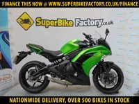 USED 2014 14 KAWASAKI ER-6F  ALL TYPES OF CREDIT ACCEPTED OVER 500 BIKES IN STOCK