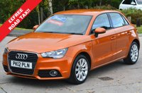 USED 2012 12 AUDI A1 1.6 SPORTBACK TDI SPORT 5d 105 BHP SAMOA ORANGE **FINANCE AVAILABLE **