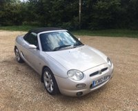 2000 MG F VVC £SOLD