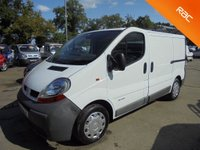 USED 2006 06 RENAULT TRAFIC 1.9 SL29DCI SWB *NO VAT TO PAY*FULL SERVICE HISTORY*