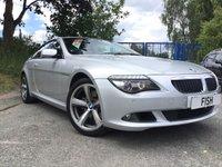 2009 BMW 6 SERIES 3.0 635D SPORT 2d AUTO 282BHP £10990.00