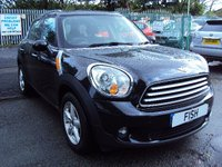 USED 2014 14 MINI COUNTRYMAN 1.6 COOPER D 5d 112BHP 1 OWNER FROM NEW+30 ROAD TAX+