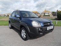2005 HYUNDAI TUCSON 2.0 CDX 4WD 5d 140 BHP £3195.00
