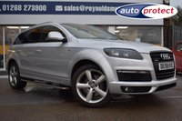 USED 2008 58 AUDI Q7 3.0 TDI QUATTRO S LINE 5d AUTO 240 BHP THE CAR FINANCE SPECIALIST
