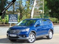 USED 2014 64 HONDA CR-V 1.6 I-DTEC SE-T 5d 118 BHP GREAT SPEC, FRONT AND REAR PARKING SENSORS, SAT NAV, TOUCHSCREEN DAB RADIO