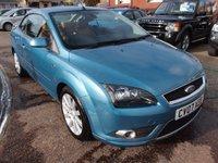 2007 FORD FOCUS 2.0 CC3 2d 144 BHP £2995.00