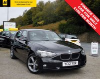 USED 2012 12 BMW 1 SERIES 2.0 118D SE 5d AUTO 141 BHP BEAUTIFUL CAR BOTH INSIDE AND OUT, WITH FULL BMW SERVICE HISTORY AND LOTS OF EXTRAS INCLUDING UPGRADED ALLOY WHEELS AND FRONT/REAR PARKING SENSORS