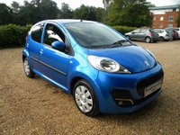 USED 2014 14 PEUGEOT 107 1.0 ACTIVE 5d 68 BHP Low Insurance Group, £0 Tax, 1 Owner