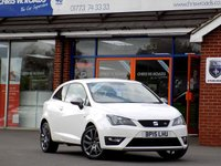 USED 2015 15 SEAT IBIZA 1.2 TSi FR 3dr 104 BHP *ONLY 9.9% APR with FREE Servicing*