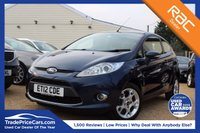 USED 2012 12 FORD FIESTA 1.2 ZETEC 3d 81 BHP bluetooth, 6 months warranty & more