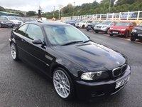 USED 2005 m BMW M3 3.2 M3 2d 338 BHP Carbon Black Met., sunroof, 19 inch Motorsport, Sat Nav plus more