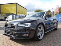 """USED 2013 13 AUDI A5 2.0 TDI S LINE SPECIAL EDITION 2d  19"""" ALLOYS ~ HEATED LEATHER ~ AIRSCARF HEAD LEVEL HEATING ~ DAB ~ BANG & OLUFSEN SOUNDS ~"""