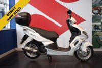 USED 2017 17 QINGQI QM SINNIS MATRIX 125 WHITE***SOLD***