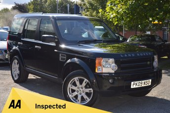 2009 LAND ROVER DISCOVERY 2.7 3 TDV6 HSE 5d AUTO 190 BHP £13928.00