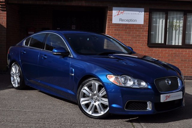 2009 09 JAGUAR XF 5.0 V8 R 4d AUTO 510 BHP XFR HUGE SPECIFICATION