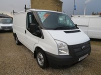 2013 FORD TRANSIT 100T 280 2.2TDCi SWB LOW ROOF VAN £7995.00