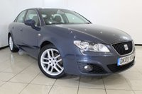 USED 2009 09 SEAT EXEO 2.0 SE CR TDI 4DR 141 BHP FULL SEAT SERVICE HISTORY + PARKING SENSORS + AUXILIARY PORT + CLIMATE CONTROL + MULTI FUNCTION WHEEL