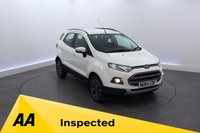 USED 2014 64 FORD ECOSPORT 1.5 TITANIUM X-PACK TDCI 5d 88 BHP LEATHER - CRUISE CONTROL
