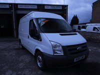 USED 2011 61 FORD TRANSIT 85T 280 2.2TDCi MWB MEDIUM ROOF VAN ONE COMPANY OWNER, ONLY 41000m