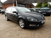 USED 2011 11 VOLKSWAGEN PASSAT 1.6 S TDI BLUEMOTION TECHNOLOGY 5d 104 BHP TWO KEYS,AIR CON,SERVICE HISTORY,parking aid