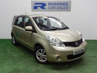 USED 2009 03 NISSAN NOTE 1.6 ACENTA 5d AUTO 110 BHP