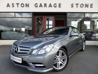 USED 2012 12 MERCEDES-BENZ E CLASS 1.8 E250 CGI BLUEEFFICIENCY SPORT ED125 AUTO CONVERTIBLE **F/MB/S/H** ** SAT NAV * HEATED LEATHER * F/M/S/H **