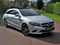 2016 MERCEDES-BENZ CLA 2.1 CLA 220 D SPORT 5d AUTO 174 BHP PANORAMIC ROOF+SAT NAV+ LOW MILES FINANCE AVAILABLE £22595.00