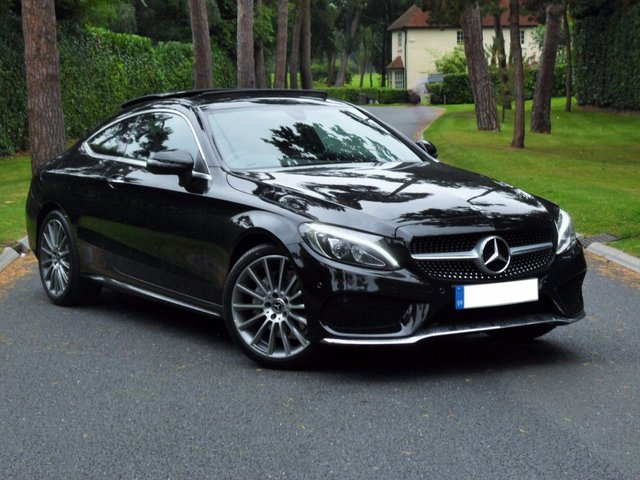 Used Mercedes-Benz C Class Coupe cars in Shepperton from