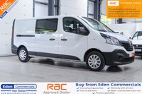 USED 2015 65 RENAULT TRAFIC 1.6 LL29 BUSINESS DCI S/R W/V 1d 115 BHP (6 SEAT CREW VAN)