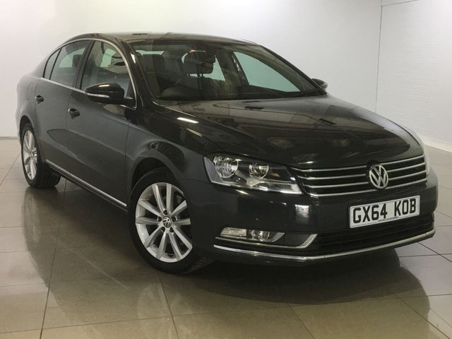 View our 2014 64 VOLKSWAGEN PASSAT 2.0 EXECUTIVE TDI BLUEMOTION TECHNOLOGY 4d 139 BHP