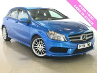 USED 2014 14 MERCEDES-BENZ A CLASS 1.5 A180 CDI BLUEEFFICIENCY AMG SPORT 5d AUTO 109 BHP One Owner From New/Sat Nav
