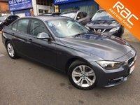 2014 BMW 3 SERIES 1.6 316I SPORT 4d AUTO 135 BHP £16295.00