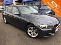 2014 BMW 3 SERIES 1.6 316I SPORT 4d AUTO 135 BHP £15195.00