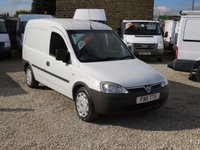 USED 2011 11 VAUXHALL COMBO 1.3CDTi 2000 VAN CAT D INSURANCE LOSS - MINOR DAMAGE NOW REPAIRED